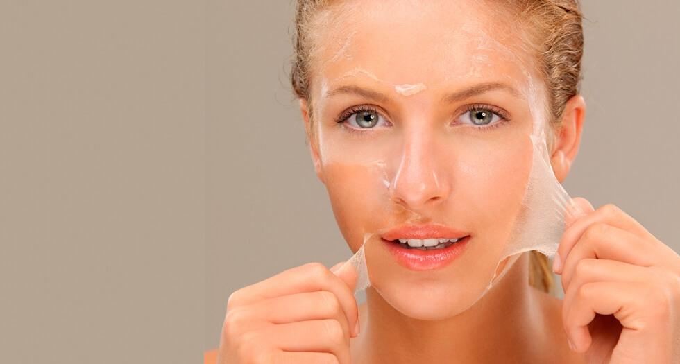 Пилинг лица гликолевой кислотой – до и после химического