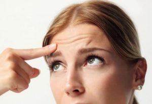 Мезонити для глаз до и после