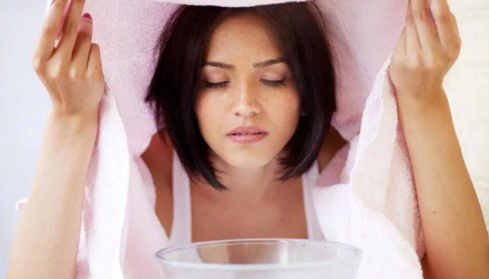 Чем распарить лицо перед чисткой в домашних